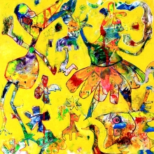 100 x 100 cm, It´s party time