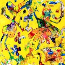 100 x 100 cm 2012, It´s party time