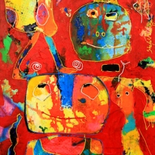 50 x 100 cm 2012, Bird on my head, Gallery Art Sawa SOLD