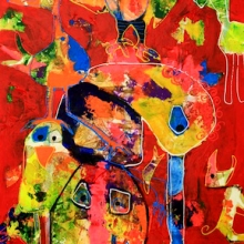 50 x 100 cm 2012, The birds SOLD