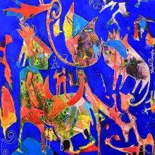 80 x 80 cm 2012, The farmer prince