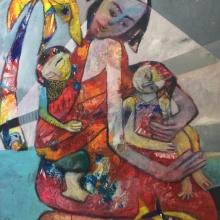 80x140 cm 2018 Motherly Love