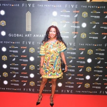 2018 The Global Art Awards,  at Penthouse of the FIVE Palm Jumeirah Dubai
