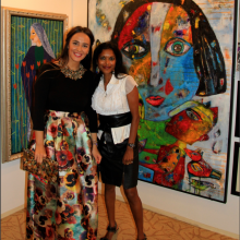 2015 Exhibtion THe Adress with Andra Contiu