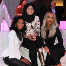 2016 With popstart in Dubai Maya Diab