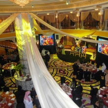 Rotary Charity/Auction dinner,  Bruj Al Arab, Dubai