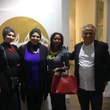 2017 Mojo Gallery Al Serkal Avenue. Raja Amin, Wafa Mohamed, Mohamed Abou Elnaga
