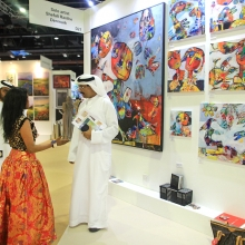 2018 World art Dubai 2