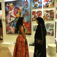 2018 World art Dubai