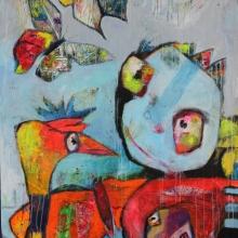 100 x150 Wings of love