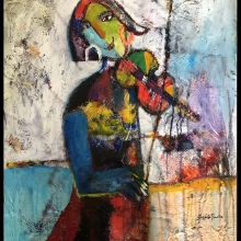 50x60-The-Violinist-i-ramme