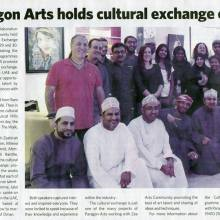 2015 Muscat Daily News Paragon Arts