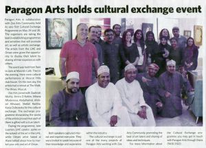 2015 Muscat Daily News Paragon Arts.jpg